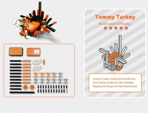 Build Tommy Turkey!